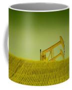 Pumpjacks In Farm Land Coffee Mug