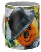 Pumpkin Face Photo Art 06 Coffee Mug