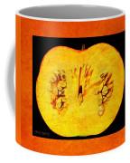 Pumpkin Half Coffee Mug