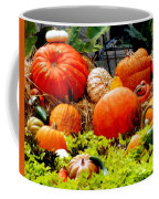 Pumpkin Harvest Coffee Mug by Karen Wiles