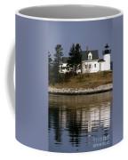 Pumpkin Island Lighthouse Coffee Mug
