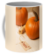Pumpkin Label Coffee Mug