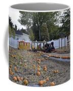 Pumpkin Train Coffee Mug