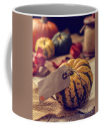 Pumpkins With Label Coffee Mug