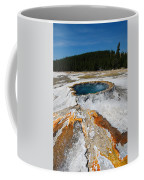 Punch Bowl Spring In Yellowstone Coffee Mug