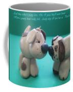 Puppy Love Coffee Mug by Barbara Snyder