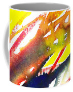 Pure Color Inspiration Abstract Painting Linea Forces Coffee Mug