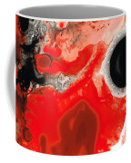 Pure Passion - Red And Black Art Painting Coffee Mug
