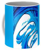 Pure Water 315 - Blue Abstract Art By Sharon Cummings Coffee Mug