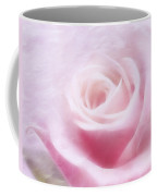 Purity And The Pink Rose Coffee Mug