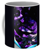 Purple Abstract Coffee Mug