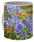 Purple Agapanthas Coffee Mug