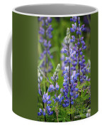 Purple Alaskan Lupines Coffee Mug