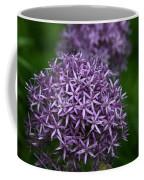 Purple Allium Coffee Mug