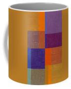 Purple And Orange Get Married Coffee Mug by Michelle Calkins