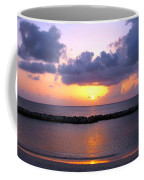 Purple And Pink Sunset Caribbean Dream Coffee Mug