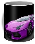 Purple Aventador Coffee Mug
