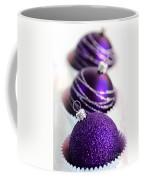 Purple Baubles Coffee Mug