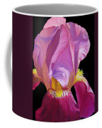 Purple Bearded Iris Coffee Mug