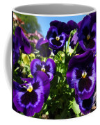 Purple Blooms Coffee Mug
