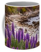 Purple California Coastline Coffee Mug