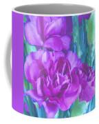 Purple Carnations Coffee Mug