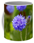 Purple Cornflower Coffee Mug
