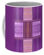 Purple Dreams Squares Coffee Mug