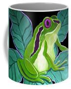 Purple Eyed Frog Coffee Mug