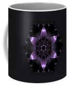Purple Fantasy Flower Coffee Mug