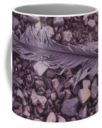 Purple Feather Coffee Mug