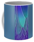 Purple Feathers Coffee Mug