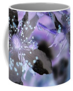 Purple Flower Abstract  2 Coffee Mug