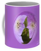 Purple Flower Orb Coffee Mug