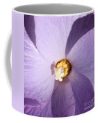 Purple Flower Square Coffee Mug