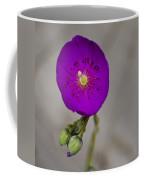 Purple Flower With Buds Coffee Mug