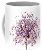 Purple Flowering Onion Coffee Mug