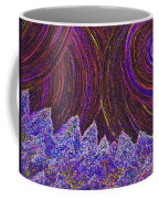 Purple Forest Moon Coffee Mug