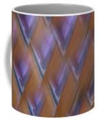 Purple Geometry - Abstract Coffee Mug