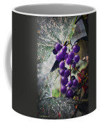 Purple Grapes - Oil Effect Coffee Mug