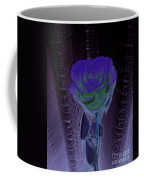 Purple Green Dark Rose Coffee Mug