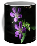 Purple Highlights Coffee Mug