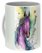 Purple Horse Coffee Mug