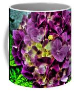 Purple Hortensia After Summer Rain Coffee Mug