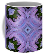 Purple Hydrangea Flower Abstract 2 Coffee Mug