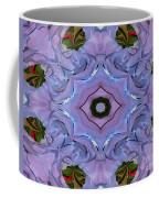 Purple Hydrangea Flower Abstract Coffee Mug