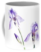 Purple Iris Glow Coffee Mug