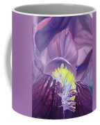 Georgia O'keeffe Style-purple Iris Coffee Mug