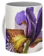 Purple Iris Macro 5 Coffee Mug