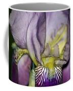 Purple Iris - Macro Coffee Mug